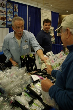 Find great deals on tackle of all kinds at the Federation show.